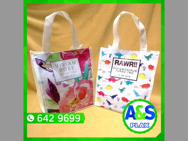 BOLSAS REUTILIZABLES, A&S PLAX