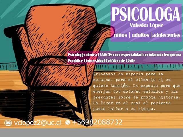 PSICÓLOGA CLÍNICA / +56982088732