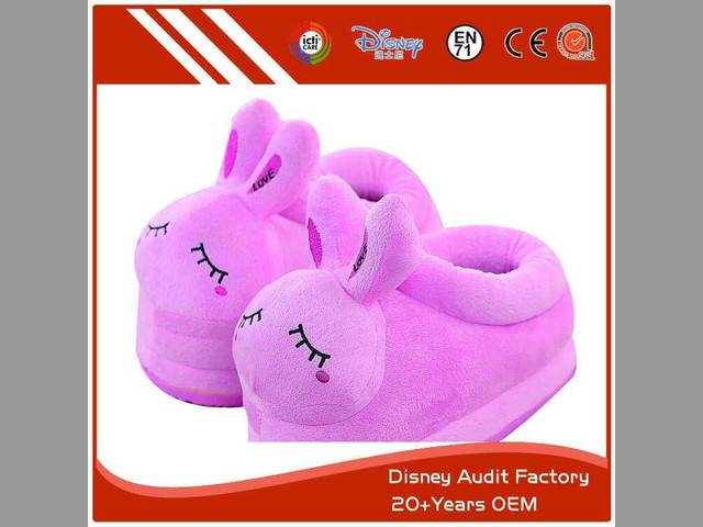 Kids Bunny Slippers