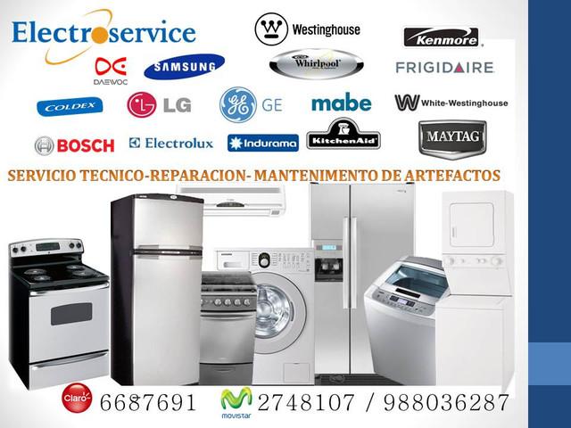 MANTENIMIENTO reparación  servicio técnico 6687691 de electrodomésticos