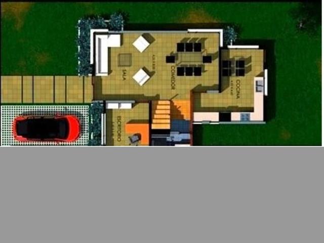 Casa vista frontal