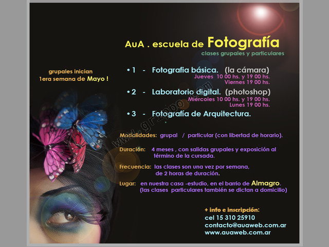 Cursos de Fotografía y Photoshop + AuA fotografía