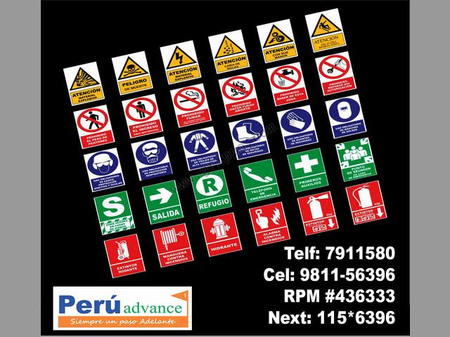señalizaciones para usos  industriales