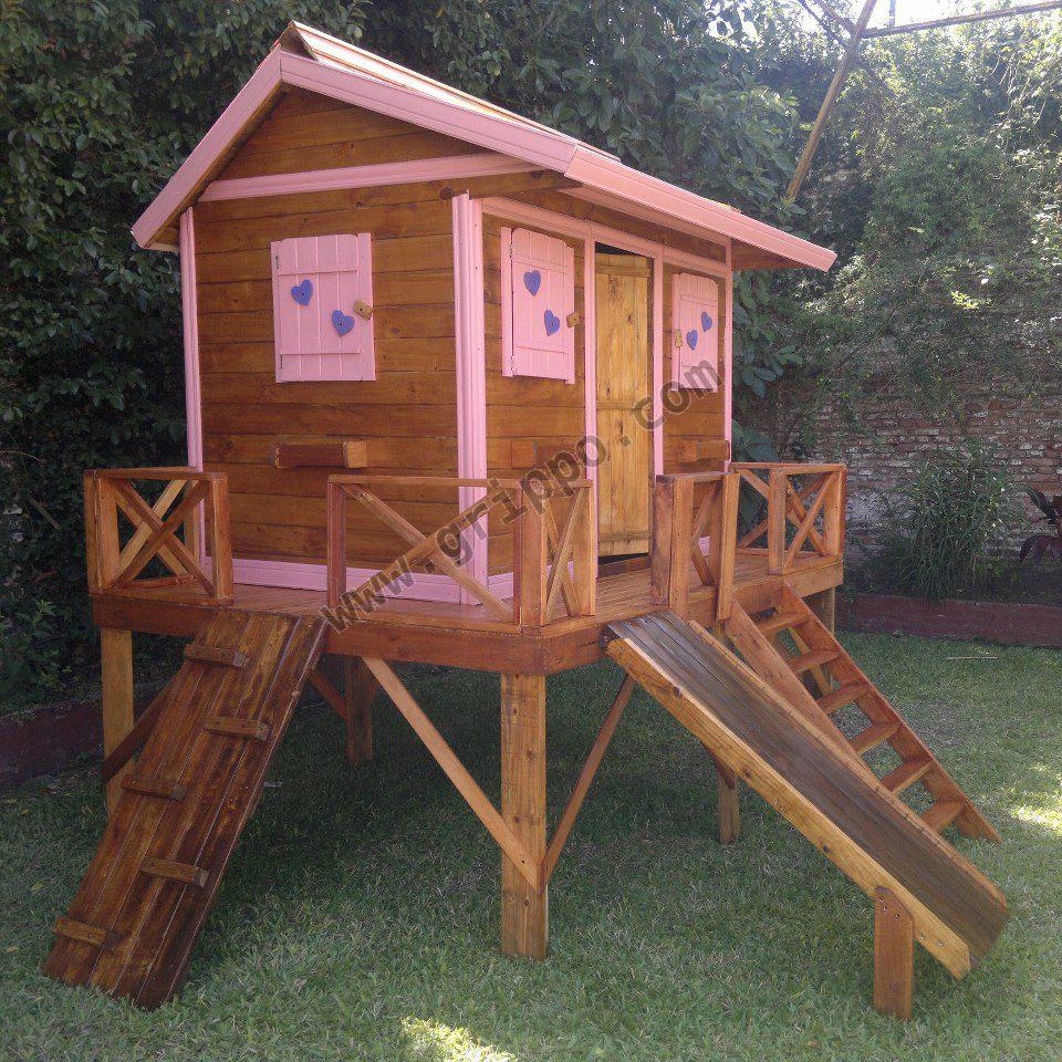 Juegos de madera y casitas infantiles - Casitas de maderas infantiles ...