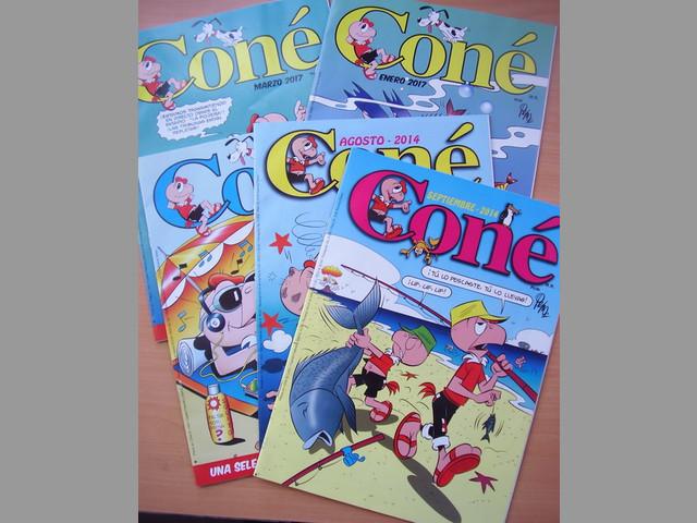 Cone Pack 5 Comics Pepo Condorito Oferta Coleccion en Español