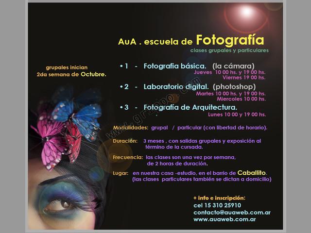 Cursos de Fotografía y Photoshop en Caballito + Boedo + Almagro.