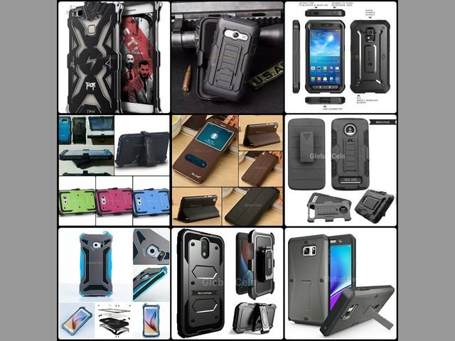 Protectores de Metal J5 2016 J7 2015 Huawei G8 P8 Lite P9 Plus con perno