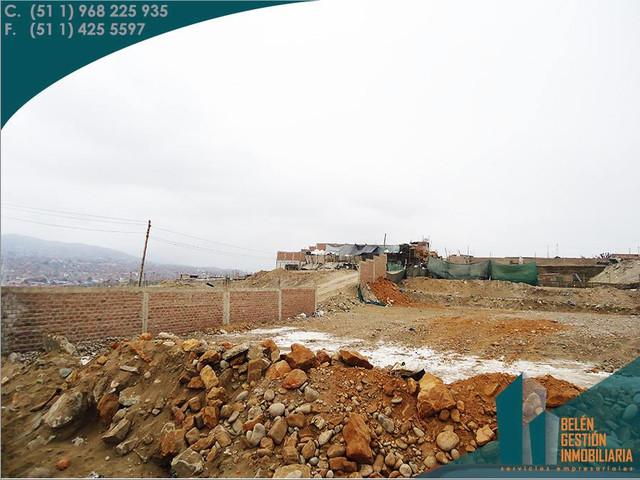 SE REMATA TERRENO DE 8,627 M2 EN LA ZONA INDUSTRIAL DE VILLA EL SALVADOR