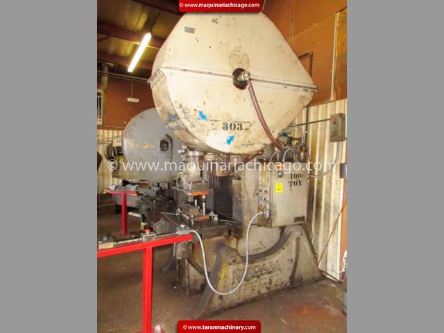 Troqueladora NIAGARA 100 ton USADA