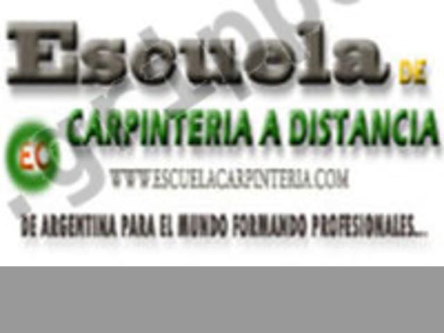 Curso de carpinteria gratis con modalidad on-line
