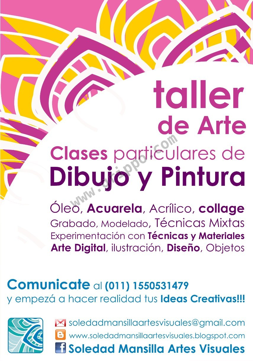 Taller de arte clases de dibujo y pintura en villa ort zar for Taller de artesanias