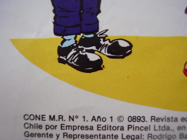Comic Cone de Condorito numero 1.Completo.1982.Primera epoca.Revista.Teb