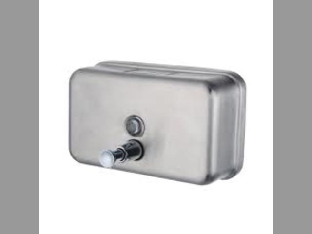 Dispensador jabon metalica 1200ml