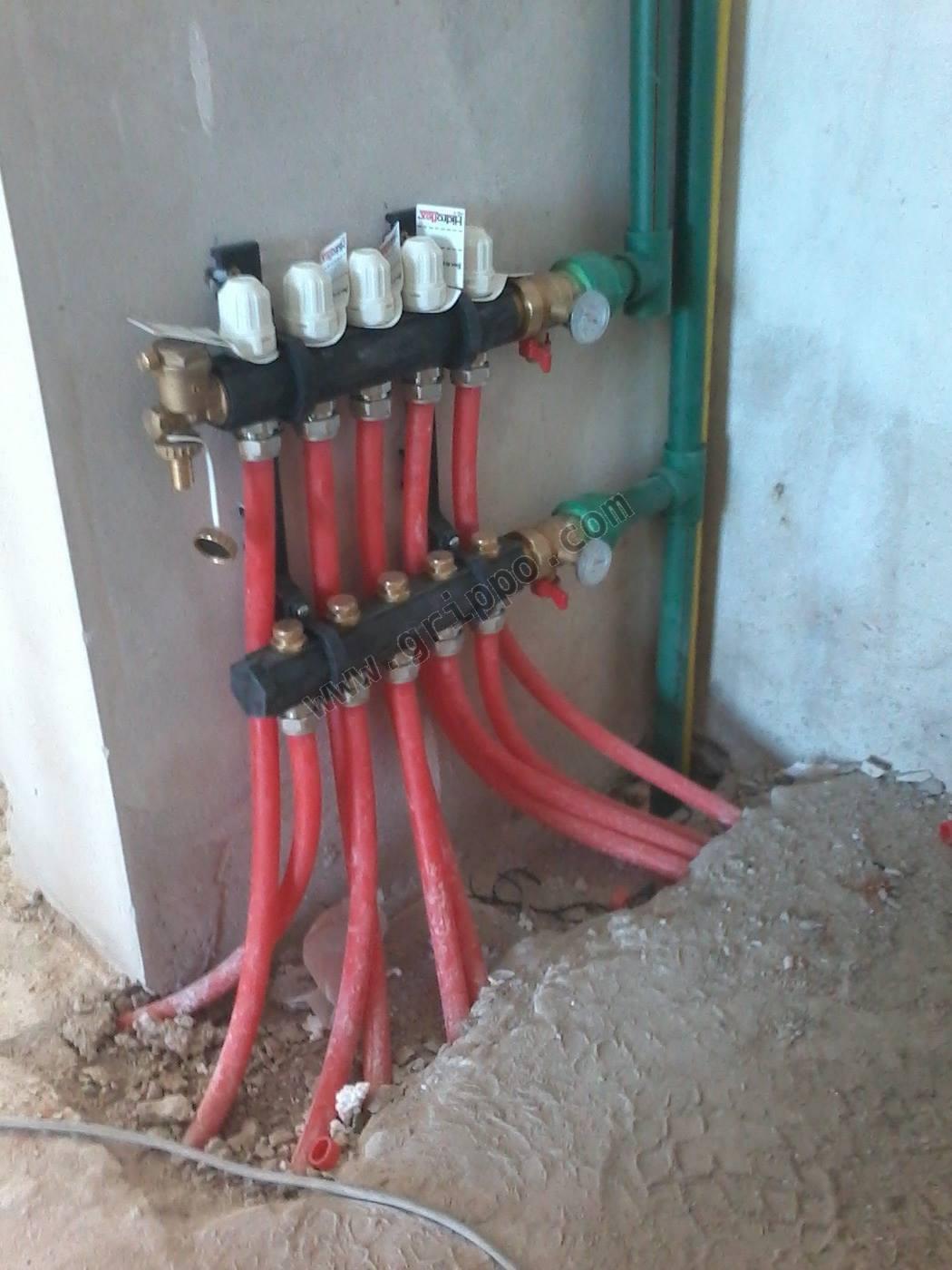 Calefacci n por piso radiante - Calefaccion por hilo radiante ...