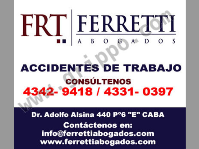 Abogados en Lanus | FERRETTI ABOGADOS | Tfno (43429418)