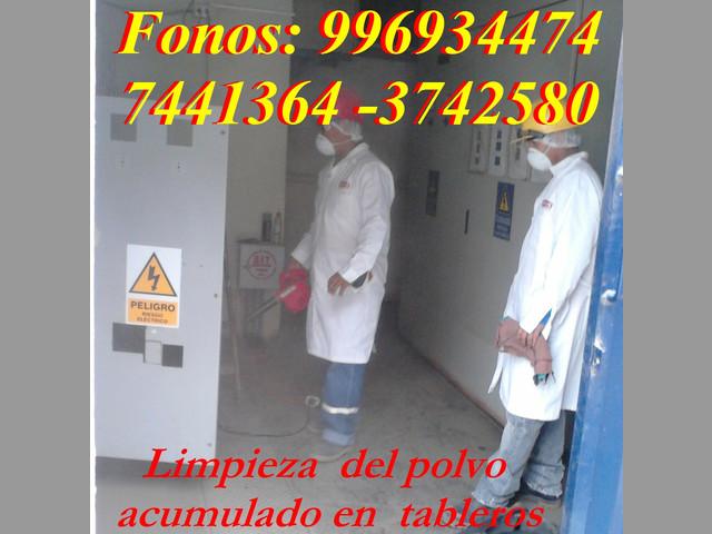 MANTENIMIENTO DE TABLEROS ELECTRICOS Y POZO A TIERRA