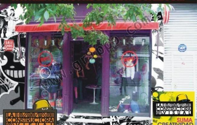 Dise o de vidrieras e interiores de locales y casas for Diseno de interiores locales comerciales
