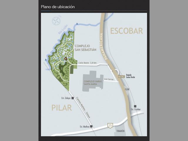 Lote 812 M2 En Barrio San Sebastian Pilar Bs.As