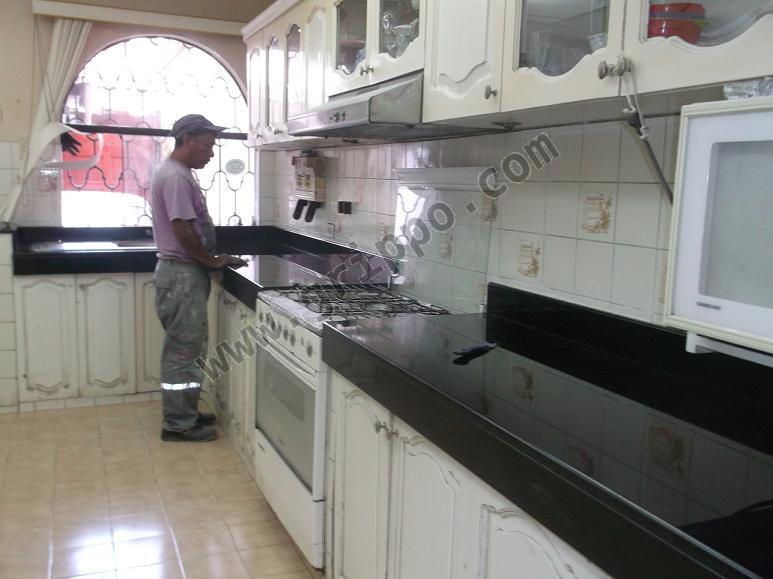 Mesa granito marmol para cocina en lima for Mesas de marmol para cocina