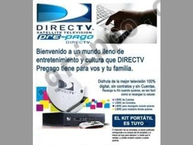 instalador directv prepago - precios