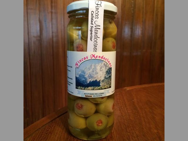 Aceitunas rellenas, ajies, pickles, encurtidos y mas!