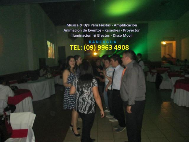 Animacion de Fiestas,Matrimonios,Dj,Musica,Iluminacion,en Rancagua