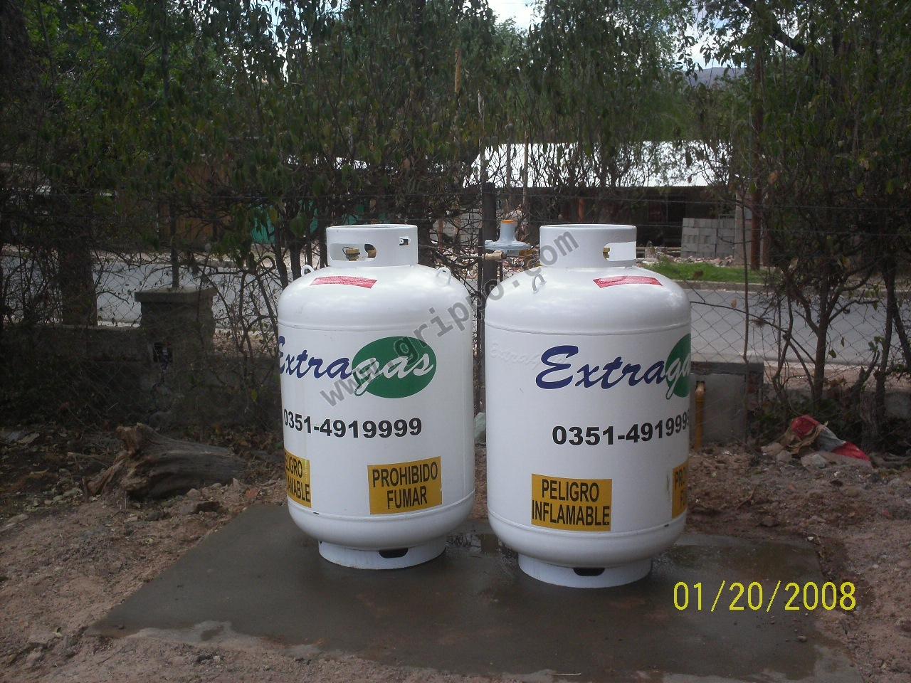 tanques de gas propano a granel en comodato extragas