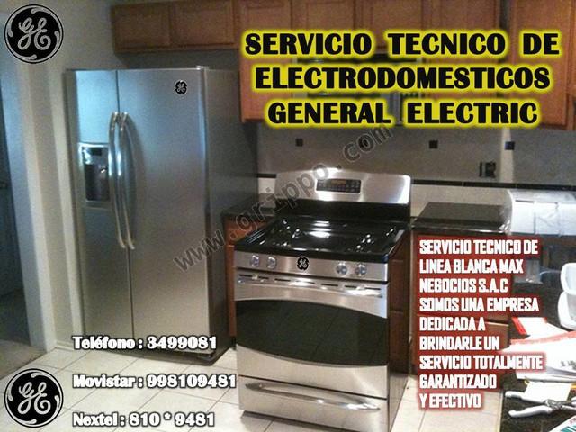 Linea blanca general electric san isidro servicio tecnico - Servicio tecnico de general electric ...