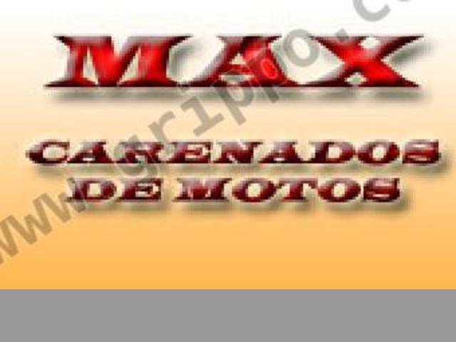 MAX Carenados de Motos. La calidad en un solo lugar
