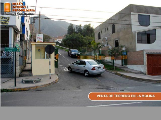 VENTA DE TERRENO DE 138 M2 EN ALAMEDA DEL CORREGIDOR LA MOLINA