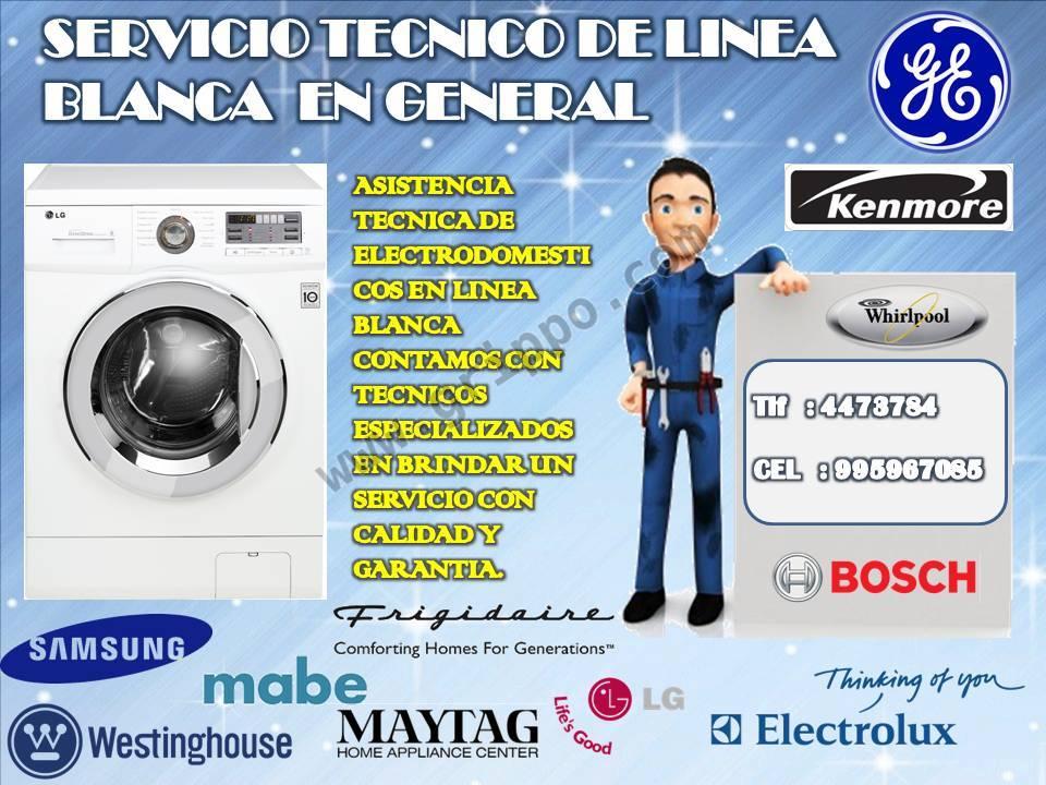 Servicio tecnico de linea blanca samsung - Servicio tecnico de general electric ...