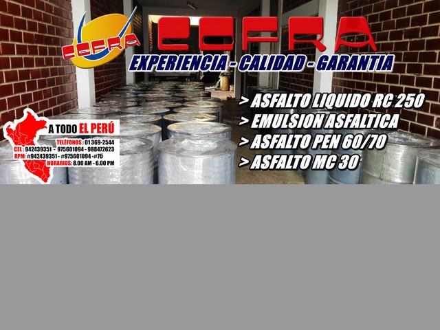 Primiun De Asfalto Mc 30 - Brea Liquida O Bloque - Alquitran Stock # 942