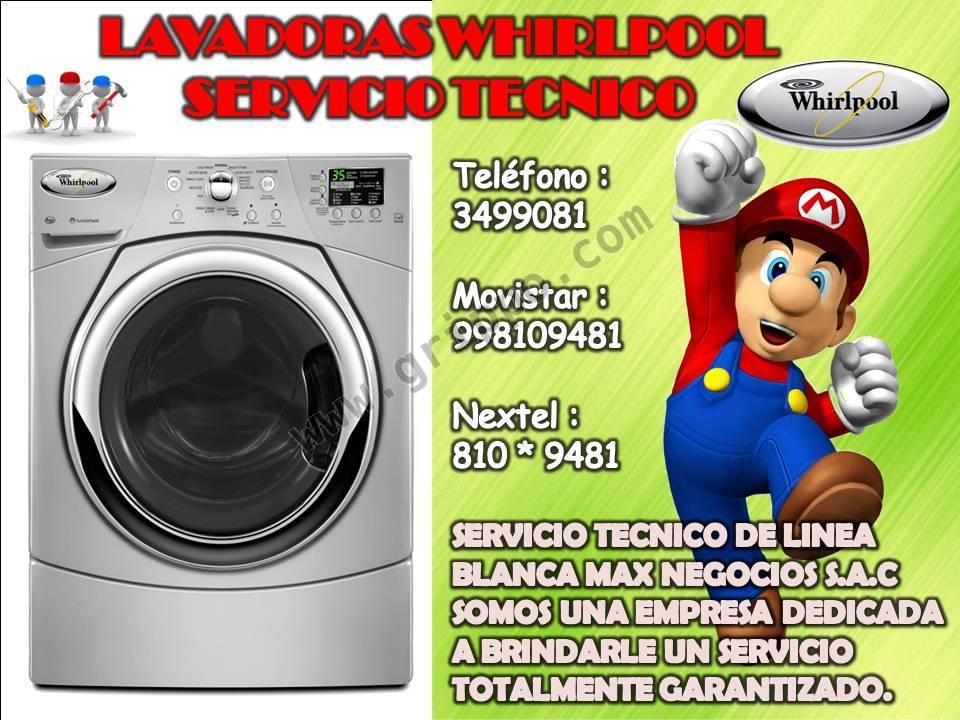 Lavadoras whirlpool servicio tecnico la molina for Servicio tecnico whirlpool