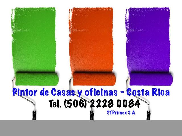 PINTAMOS SU CASA Y OFiCINA en Costa Rica
