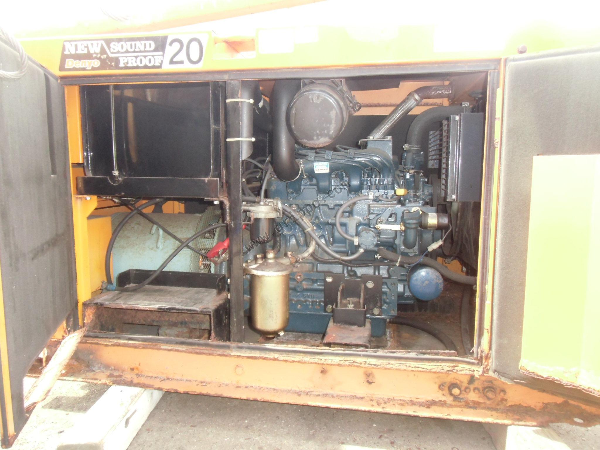 Generador el ctrico usado desde jap n - Precios generadores electricos ...