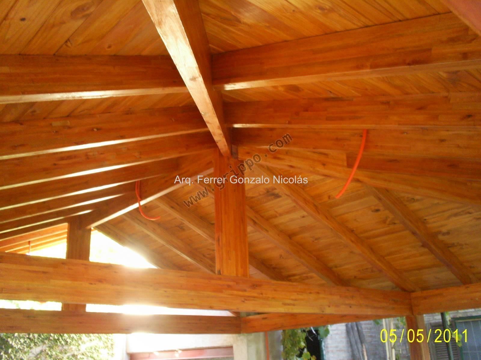 Techos artesonados de madera en mercados mundiales car - Techo de madera ...