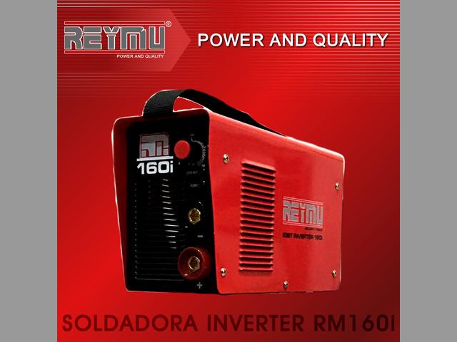 Se vende Soldadora Inverter RM160i. REYMU