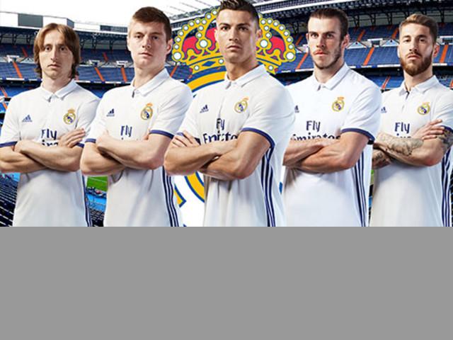 Camisetas de Fútbol Real madrid