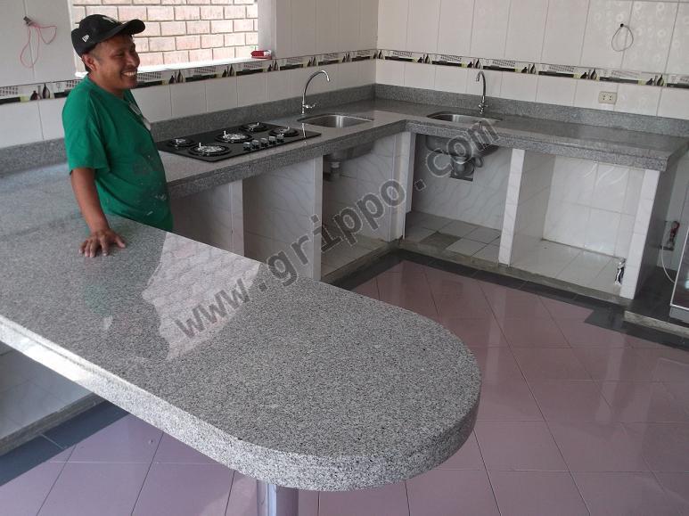 Mesa granito marmol para cocina en lima for Cuanto cuesta el marmol