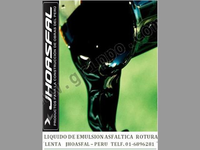 VENTA DE ASFALTO-RC-250 & EMULSIONES ASFALTICAS CON GARANTIA
