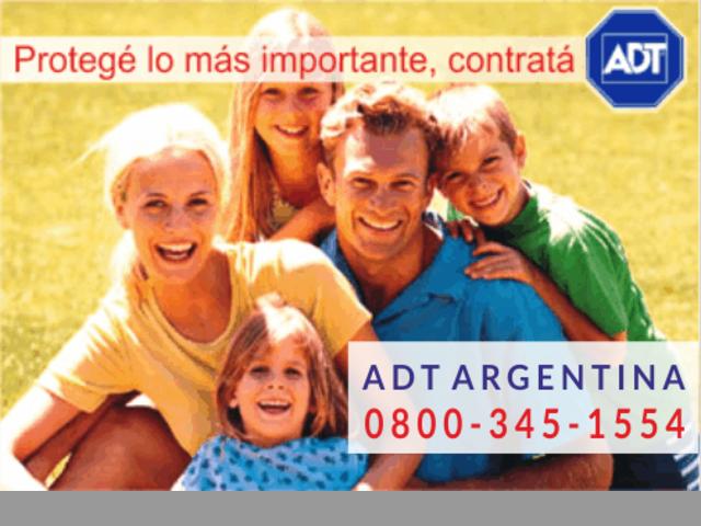 ADT 0800-345-1554 - 0$ Instalación - Promoción limitada