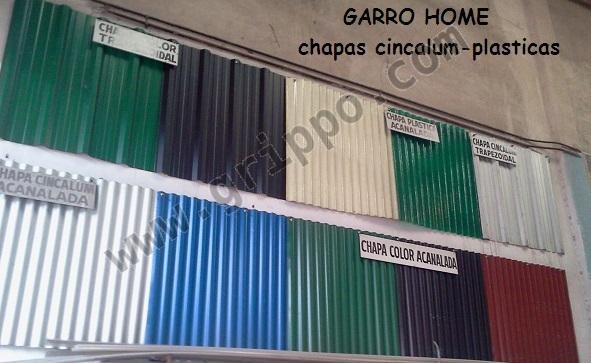 Chapas para techos precios for Como encielar un techo
