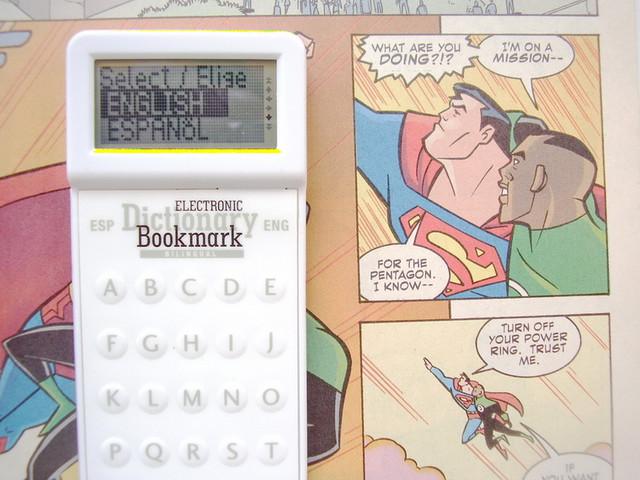 Marcapagina Diccionario Electronico Español Ingles Dictionary Bookmark S