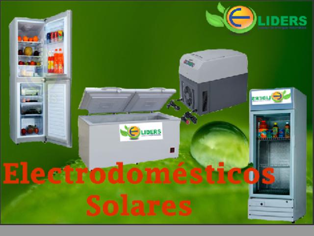 ELECTRODOMÉSTICOS SOLARES