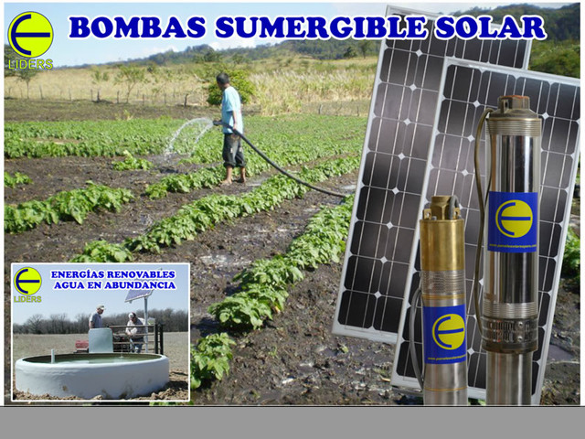 BOMBAS SUMERGIBLES SOLARES