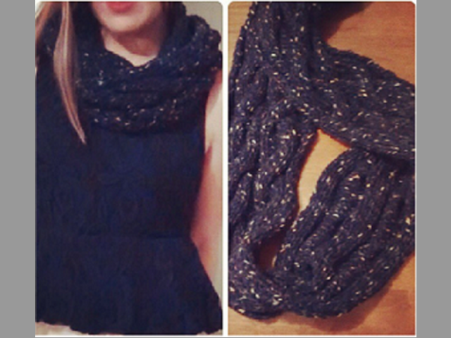 Bufanda en lana