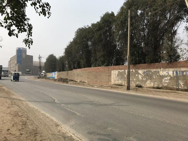 TERRENO INDUSTRIAL CERCADO, UBICADO EN CAJAMARQUILLA, LIMA