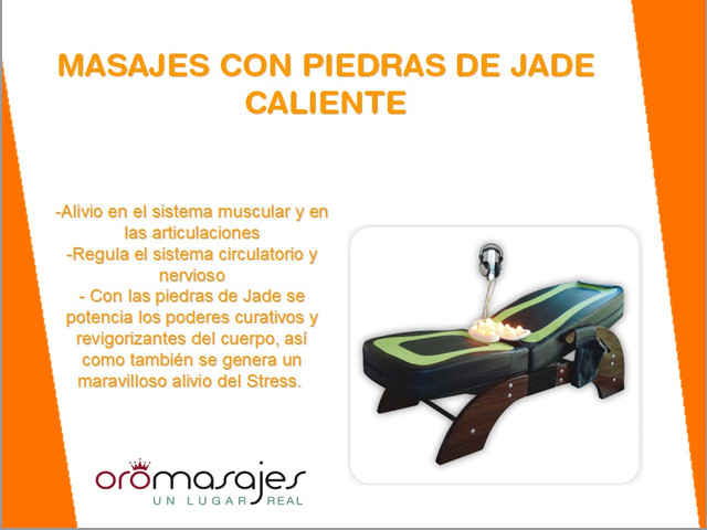 MASAJES EN CAMA MECÁNICA CON PIEDRAS DE JADE CALIENTES. PALERMO!