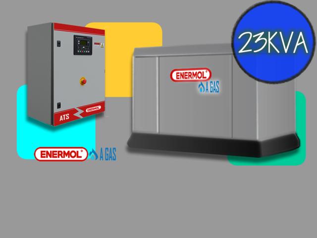 Grupos Electrógenos a GAS Tecnología de control  ITALIANA