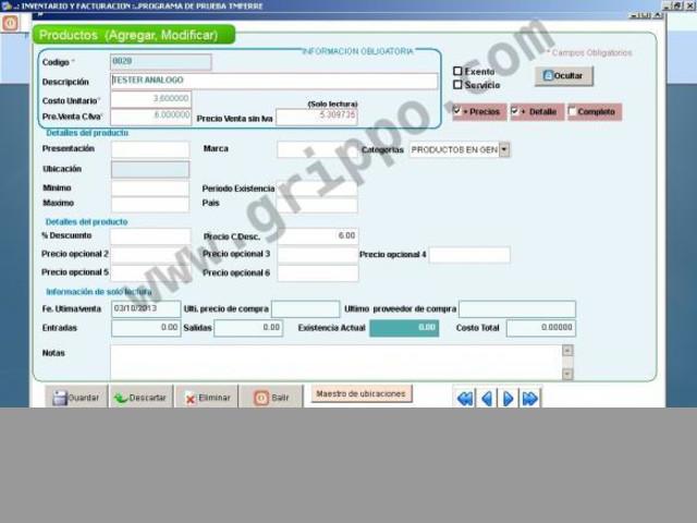 Sistema de inventario y facturación para todo negocio